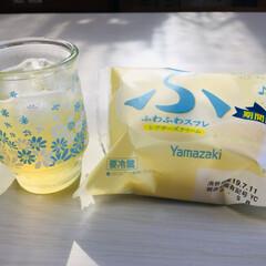 美酢パイナップル/Yamazaki ふわふわスフレ .../ヴィレヴァン/フォロー大歓迎/至福のひととき/おやつタイム/...               7/10(水…