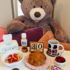 ナチュラルキッチン/SaIut!/朝食/LIMIAごはんクラブ/フォロー大歓迎/わたしのごはん/...         3/30(土) 朝食  …(1枚目)