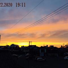 フォロー大歓迎/風景/夕焼け/暮らし  今日も綺麗な夕焼け見れました🌆