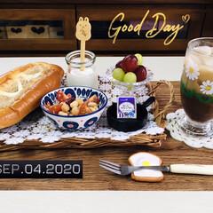 フォロー大歓迎/パン/アデリア レトロ 野ばな/ADERIA/キッチン雑貨/ナチュラルキッチン/...         9/4(金) 朝食  ヤ…