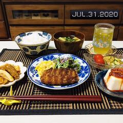 究極の出会い 食べるラー油と柿の種・坦々ラー油と柿の種 2種より選べる2個セット 一部地域を除く(食べるラー油)を使ったクチコミ「        7/31(金) 夕食  …」