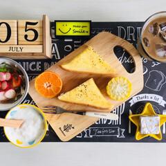 kiri キリ クリームチーズ 6ピース 108g(チーズ)を使ったクチコミ「               7/5(金…」