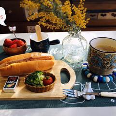 Q.B.Bベビーチーズ ブラックペ.../フォロー大歓迎/ファミマのコッペパン/パン/至福の時間/BONHEURドレッシングポット/...         3/25(水) 朝食  …