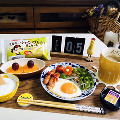 ネスカフェ エクセラ ふわラテ ネスレ NESCAFE | ネスカフェ(その他コーヒー)を使ったクチコミ「        3/5(木) 朝食  ヤ…」