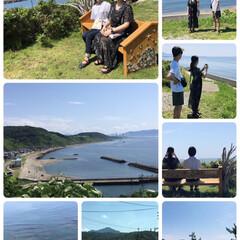 海/ドライブ/フォロー大歓迎/LIMIAおでかけ部/おでかけ/風景/...   ビーチベンチプロジェクト日本海の抜群…