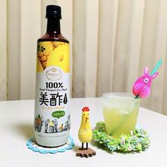 美酢パイナップル/春のフォト投稿キャンペーン/ありがとう平成/令和カウントダウン/フォロー大歓迎/春/...     お風呂上がりに美酢パイナップル🍍…