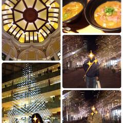 つるとんたん/KITTE/イルミネーション/丸の内/東京駅/クリスマス2019/...        2019.12.1(日) …