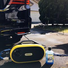 ケルヒャー 3in1ウルトラフォームクリーナー(高圧洗浄機)を使ったクチコミ「       2020.4.19(日) …」
