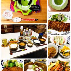 おうちごはん/ご飯/至福の時間/スイーツ/おやつ/食欲の秋/...      10/21(月) おやつ・夕食…