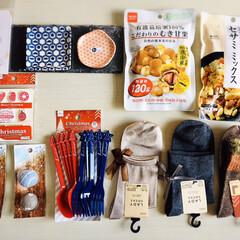ドン・キホーテ/お菓子/靴下/食器/リミアの冬暮らし/ダイソー/...  ☆DAISO ・セサミ ミックス ・こ…