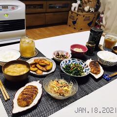 フォロー大歓迎/キッチン雑貨/ランチョンマット/ドン・キホーテ/100均/リミとも部/...         1/18(月) 夕食  …
