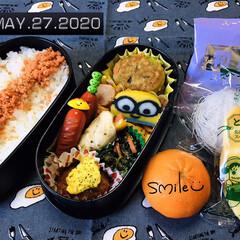 フォロー大歓迎/ランチョンマット/マーコット/鮭フレーク/業務スーパー/栗山米菓 期間限定ばかうけ とうも.../...        5/27(火) 主人弁当🍱…