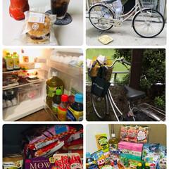 買い出し/おやつ/とんかつまい泉ミニメンチかつバーガー/コカコーラ アップル/冷凍庫/冷蔵庫/...               2019.9…