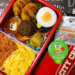 3coins/Meijiもっちりプチホットケーキ/サンリオフルーツゼリー/息子弁当/フォロー大歓迎/お弁当/...              8/5(月) …(2枚目)