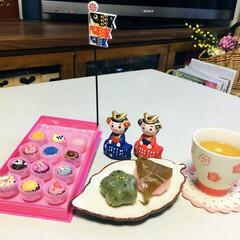 桜もち草もち/チョコレート/フォロー大歓迎/スイーツ/甘党大集合         3/21(木) おやつ …