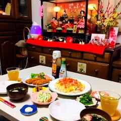夕食/ちらし寿司/ひな祭り/LIMIAごはんクラブ/フォロー大歓迎/わたしのごはん/...       3/3(日) 夕食   ひな…