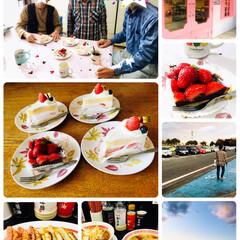 幸楽苑/フロプレステージュ/ケーキ/誕生会/お正月2020/おでかけ/...          2020.1.3(金)…
