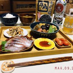 ヤマサ 鮮度生活 減塩しょうゆ200ml×1ケース(その他醤油)を使ったクチコミ「        3/9(月) 夕食  ご…」