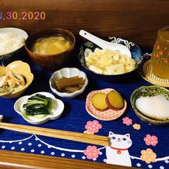 ランチョンマット/ナチュラルキッチン/なんじゃ村/至福の時間/おうちごはん/夕食/...         1/30(木) 夕食  …