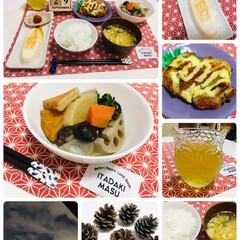 ナチュラルキッチン/松ぼっくり/夕食/ご飯/キャンドゥ/ダイソー/...               2019.9…
