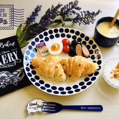 うまい村デイリー クノール カップスープ コーンクリーム 16袋 x6(スープ)を使ったクチコミ「        3/9(月) 朝食  神…」