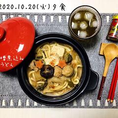 八幡屋礒五郎 七味唐辛子 缶 14g(カクテル)を使ったクチコミ「       10/20(火) 夕食  …」(1枚目)