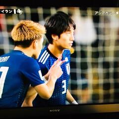 室屋成選手/アジアカップ/サッカー/フォロー大歓迎 アジアカップ日本×イラン⚽️後半途中出場…