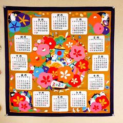 木製吊るし飾り/フォロー大歓迎/布製カレンダー/ダイソー/100均/雑貨/...        2020.2.1(土)  …