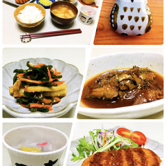 おうちごはん/缶詰/夕食/太郎納豆/箸置き/ナチュラルキッチン/...                10/1(…