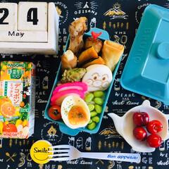アンパンマンはんぺん/アメリカンチェリー/野菜生活 デコポンミックス/自分弁当/BRUNO弁当箱/SaIut!/...             5/24(金) …