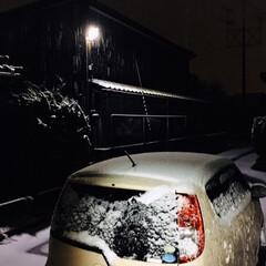 風景/初雪/リミアの冬暮らし/暮らし/フォロー大歓迎      2019.12.6(金) 初雪…