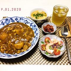 フォロー大歓迎/キッチン雑貨/ランチョンマット/シルク/リミとも部/至福の時間/...         9/1(火) 夕食  🍛…