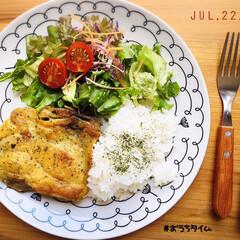 S&B マジックソルト 80g×5個(塩)を使ったクチコミ「        7/22(水) 夕食  …」