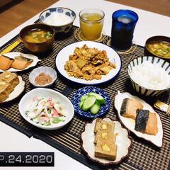 食欲の秋/フォロー大歓迎/銀鮭焼漬/キッチン雑貨/ランチョンマット/リミとも部家事フォト/...         9/24(木) 夕食  …