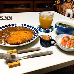 フォロー大歓迎/至福の時間/シルク/カレー/おうちごはん/夕食/...         2/25(火) 夕食  …