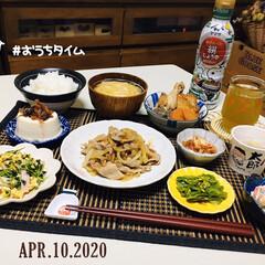 エバラ 黄金の味 さわやか檸檬 355g ×12本入(たれ)を使ったクチコミ「        4/10(金) 夕食  …」