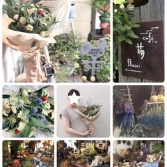 結婚1周年/花束/りとるがぁでん萌 Flower&café/フォロー大歓迎/風景/セリア/...               2019.8…