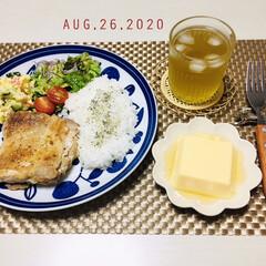 S&B マジックソルト 80g×5個(塩)を使ったクチコミ「        8/26(水) 夕食 🐓…」