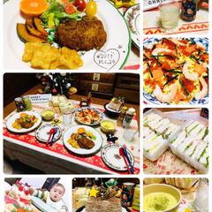 缶チューハイ/ブッシュドノエル/至福の時間/おうちごはん/SUNTORYほろよい香るあんず/Asahi贅沢搾りレモン/...        12/24(火) 夕食  …