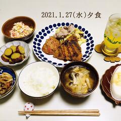 創味シャンタン 粉末タイプ 50g(だし、ブイヨン、がらスープ)を使ったクチコミ「        1/27(水) 夕食  …」