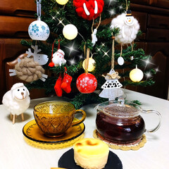Tea Break缶(ティーバッグ紅茶)を使ったクチコミ「     12/8(日) 🕒おやつ LA…」