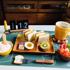 ネスカフェ エクセラ ふわラテ ネスレ NESCAFE | ネスカフェ(その他コーヒー)を使ったクチコミ「        1/12(日) 朝食  …」