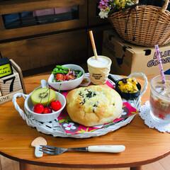 ナチュラルキッチン/ワッツ/シルク/朝食/3coins/フォロー大歓迎/...                6/27(…