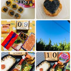 ◆オリヒロ ぷるんと蒟蒻ゼリー パウチ キウイ 20gx6個(ダイエットお菓子)を使ったクチコミ「10/9(水)息子夜勤弁当🍱10/10(…」