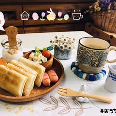 ネスカフェ エクセラ ふわラテ ネスレ NESCAFE | ネスカフェ(その他コーヒー)を使ったクチコミ「       4/18(土) 朝食  お…」