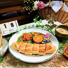 フード/朝食/SaIut!/春のフォト投稿キャンペーン/フォロー大歓迎/令和カウントダウン/...           4/19(金) 朝食…