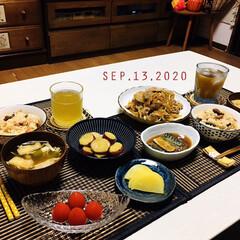フォロー大歓迎/トマトベリー/炊き込みご飯/リミとも部/至福の時間/暮らし/...         9/13(日) 夕食  …