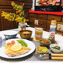 うまい村デイリー S&B マジックソルト オリジナル 80g x5(その他調味料、料理の素、油)を使ったクチコミ「         2/26(水) 夕食 …」