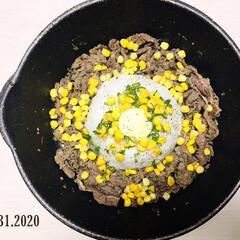 至福の時間/フォロー大歓迎/リミとも部/ペッパーランチ風/夕食/おうちごはん/...        8/31(月) 夕食  🍳…