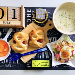 kiri キリ クリームチーズ 6ピース 108g(チーズ)を使ったクチコミ「                 7/1…」(1枚目)